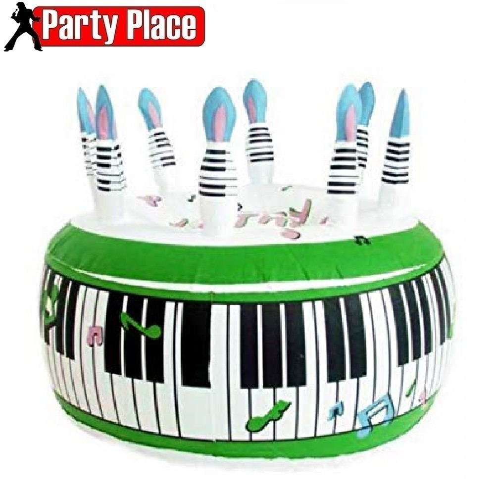 Brilliant Inflatable Birthday Cake Pp01466 Party Place 3 Floors Of Personalised Birthday Cards Xaembasilily Jamesorg
