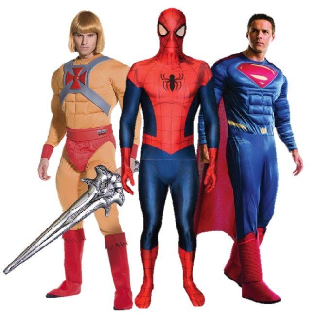 Super Heros (mens)