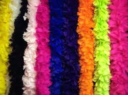 Feathers/Boa's/Headdress
