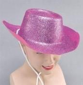 Pink glitter cowboy hat ( PP04029)