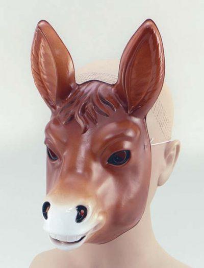 Plastic Donkey Mask (PP00569)