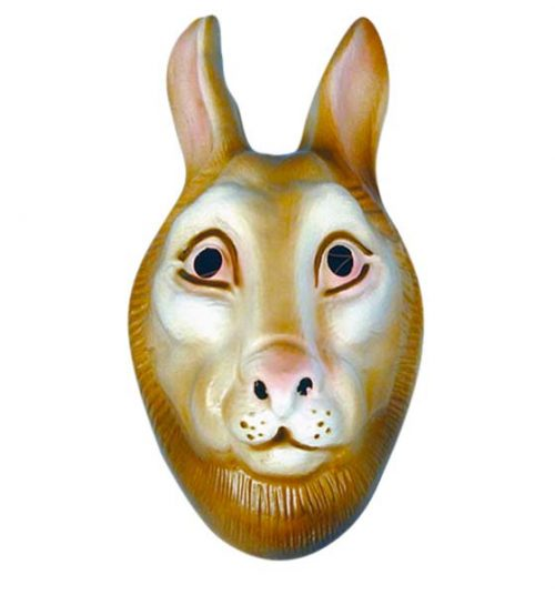 Plastic Rabbit Mask (PP00571)