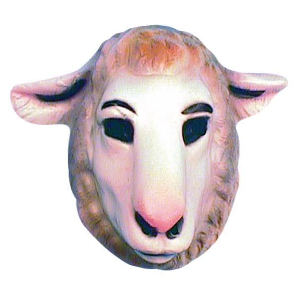 Plastic Lamb Mask (PP00572)
