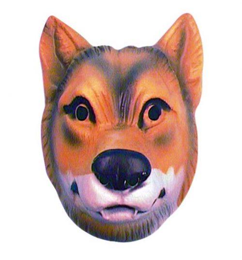 Plastic Wolf Mask (PP00573)