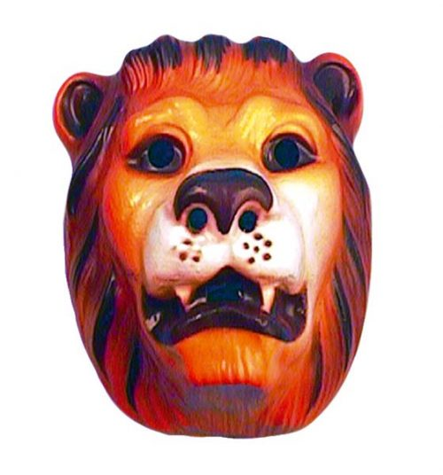 Plastic Lion Mask (PP00574)