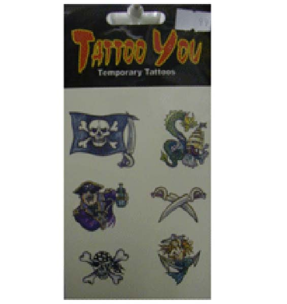 Pirate Tattoos (P00728)
