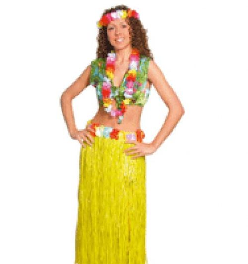 Grass Skirt Yellow (PP00940)