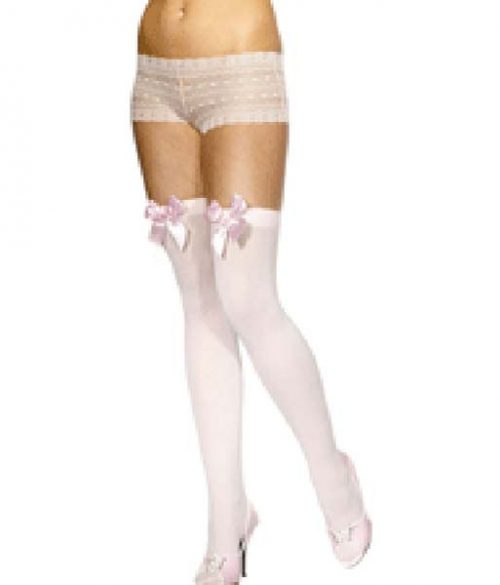 Stockings Pink Bow PP01587)