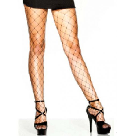 Tights Fence Net Black (PP01594)