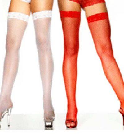 Stockings Fishnet Hold Ups (PP01595)