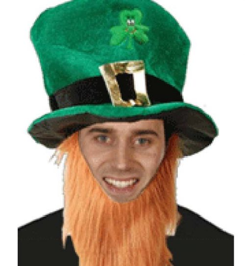 Irish Hat + Beard (PP01828)
