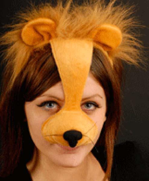 Headband Lion Mask (PP01875)