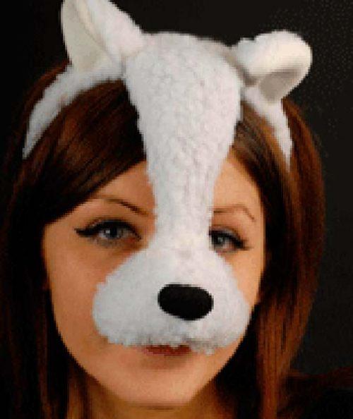 Headband Lamb Mask (PP01878)
