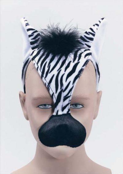 Headband Zebra Mask (PP01887)