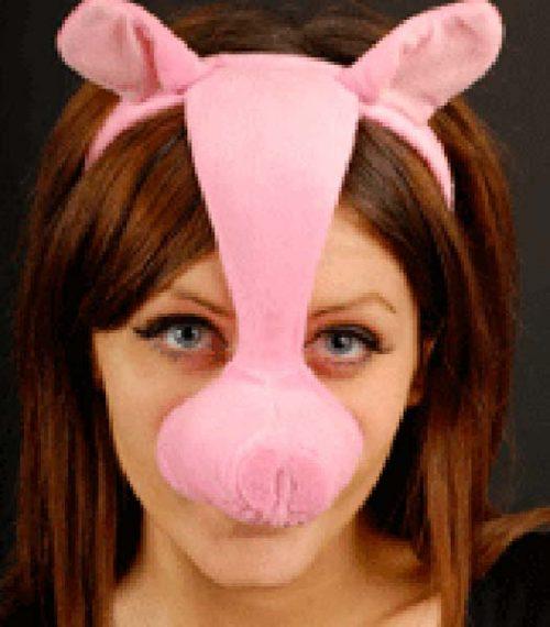 Headband Pig Mask (PP01888)