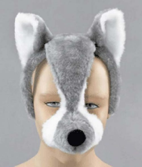 Headband Wolf Mask (PP01889)