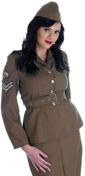 Army WW2  Lady (PP02354)