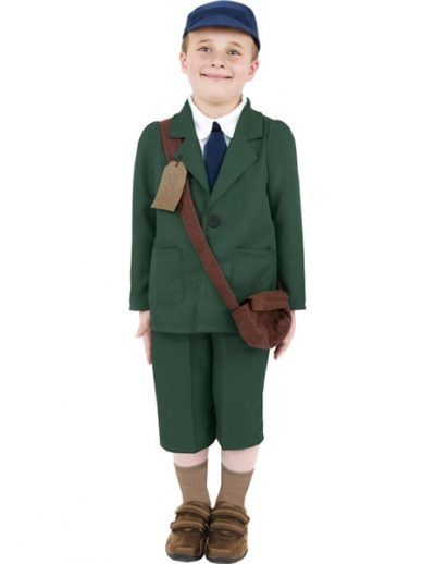 WWII Evacuee Boy
