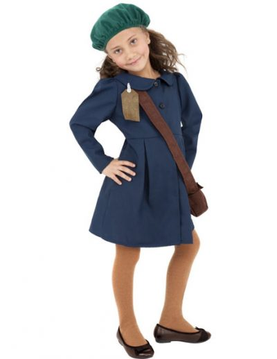 WW2 Evacuee Girl( PP02381)