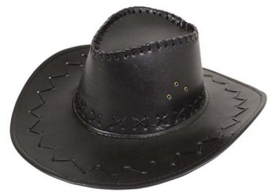 Cowboy Hat Leather Look  (PP02549)