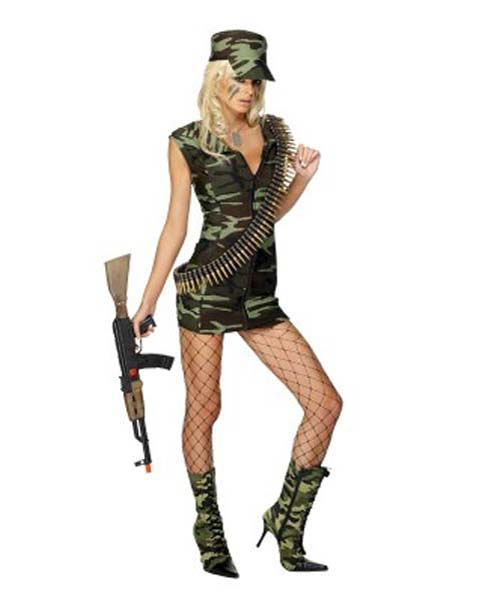 Army Combat Girl (PP02664)