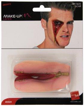 Latex Face Zip (PP08363)