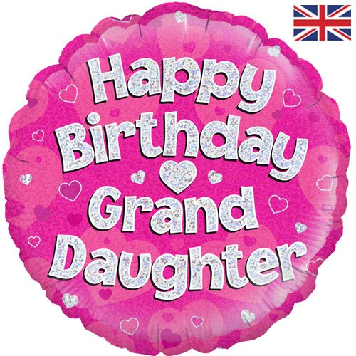 Happy Birthday Grand Daughter