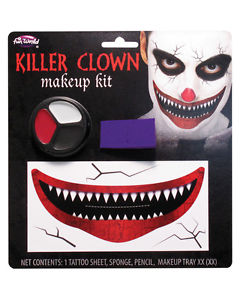 Killer Clown Make Up Kit (PP08228)