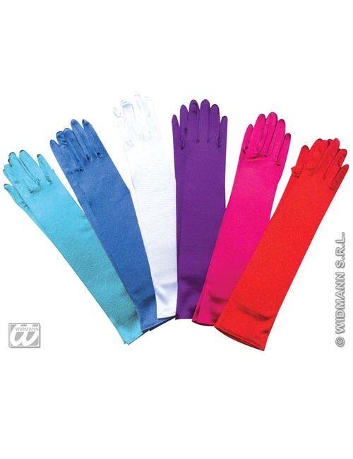 Satin Gloves Long (PP04080)
