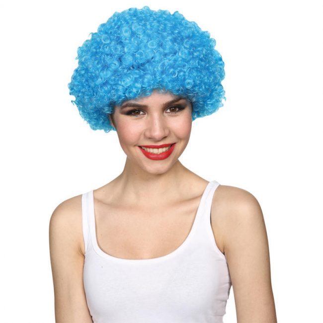 Afro Wigs(Red. Blue. Yel. Grn. Pnk) PP04050