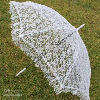 Parasol White Lace (PP05209)