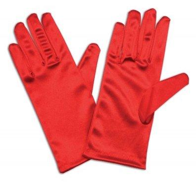Satin Gloves Short. (PP04084)